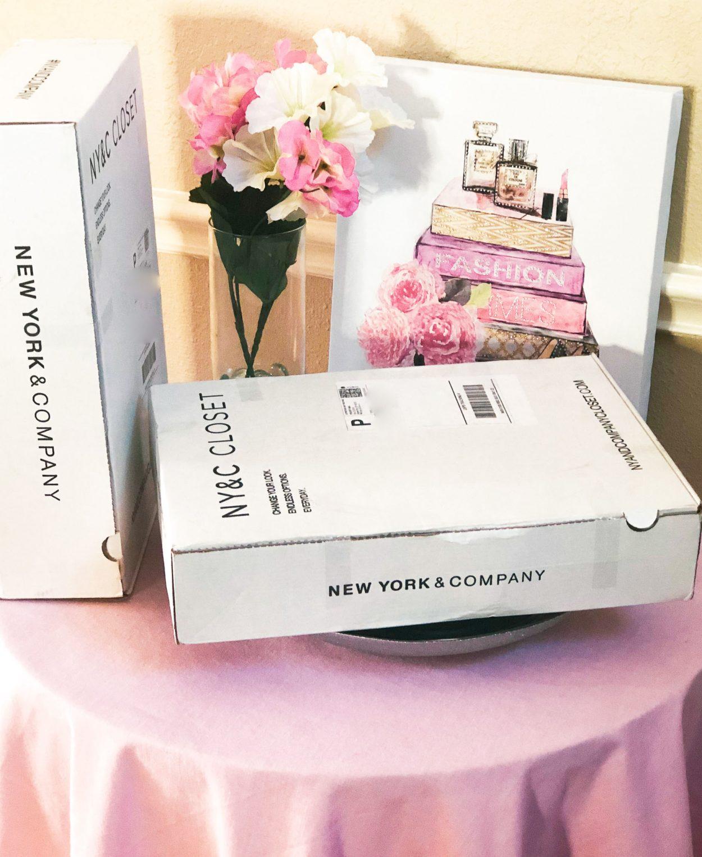 NY&C Closet Boxes