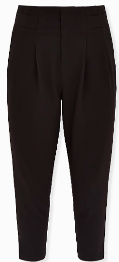 plus size paper waist pants